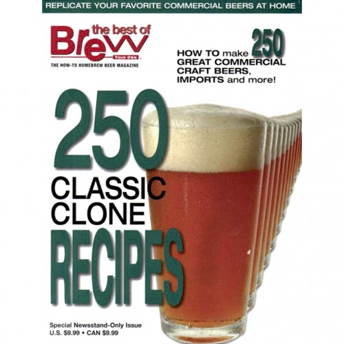 Brew Your Own - 250 Clone Recipes