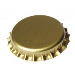 Καπάκια 26mm χρύσά (100τμχ) με Oxygen Scavenger.