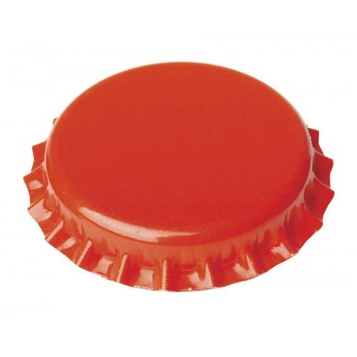 Καπάκια 26mm πορτοκαλί (100τμχ)