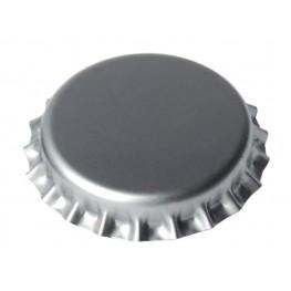 Καπάκια 26mm ασημί (100τμχ)
