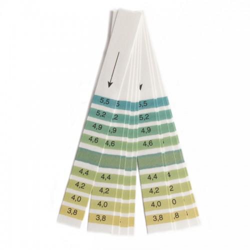 Χαρτάκια μέτρησης pH 3.8 - 5.5